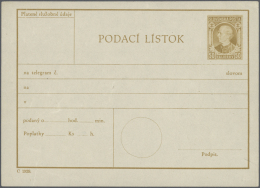 Tschechoslowakei - Ganzsachen: 1918/1993, Comprehensive Collection Of Apprx. 1130 (mainly Unused) Stationeries In Twelve