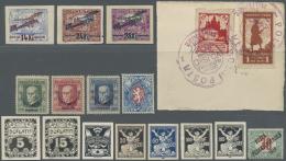 Tschechoslowakei: 1918/1990 (ca.), Umfangreicher Nachlass In Alben Und Auf Steckkarten Mit Marken Ab Den Revolutions-und