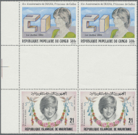 Thematik: Persönlichkeiten - Prinzessin Diana / Personalities - Princess Diana: 1960/2000 (approx), Various Countri