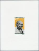 Thematik: Persönlichkeiten - Gandhi / Personalities - Gandhi: 1968/1969, French Africa (Cameroun, Gabon, Mauretania