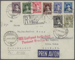 Rumänien: 1940-48 (ca.), König Michael I, Umfangreiche Spezialsammlung In Vier Leuchtturm-Alben, Mit Postfrisc