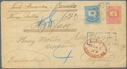 Ungarn: 1884/1960's: Group Of 36 Covers, Postcards, FDCs And Postal Stationery Including Ps Envelope 5k. Uprated 10k. An