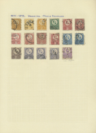 Ungarn: 1871/1970 (ca.), Used And Mint Collection On Album Pages In Two Binders Plus Some Further Material, From A Nice
