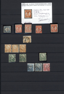 Ungarn: 1871/1919, Ungebrauchte Und Gestempelte Sammlung, Sauber Auf Stecktafeln Sortiert, Ab Einem Kleinem, Netten Teil