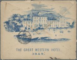 Großbritannien: 1896/1913, Lot Of 16 Entires, Mainly Used Parcel Despatch Notes, Illustrated Envelope Etc.