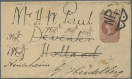 Großbritannien: 1892/1994, Lot Of More Than 200 Letters Postal Stationery, Souvenier Postcards From UK, GIBRALTAR