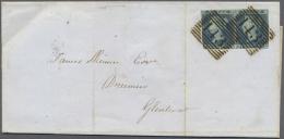 Großbritannien: 1849/1948, Kleiner Posten Mit über 30 Briefen Und Ganzsachen, Frankierter Auslands-Präge