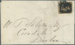 Großbritannien: 1841/1916, Lot Of 14 Covers, Varied Condition, Mainly QV Frankings, E.g. 1840 1d. Black Single Fra