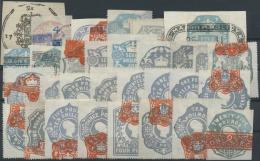 Großbritannien: 1880/1900 (ca.), Klassische Partie Von Stempelmarken, über 150 Stk. Assortment Of More Than 1