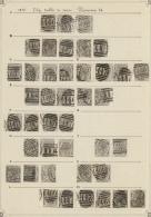 Großbritannien: 1874/1878, 6d. Grey, Wm Spray Of Rose (SG 147), Specialised Assortment Of 131 Stamps.