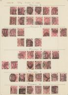 Großbritannien: 1867/1873, 3d. Rose, Wm Spray Of Rose (SG 102/103), Specialised Assortment Of 82 Stamps.