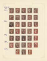Großbritannien: 1841/1980 (ca.), Comprehensive Accumulation In Eleven Albums, Varied Condition, Comprising A Speci