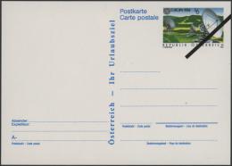 """Österreich - Ganzsachen: 1987/1999, Sehr Seltene Sammlung Der """"Vorlagestücke"""" Jeweils Mit Schwarzem Schrä"""