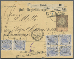 Österreich - Ganzsachen: 1884/1918 (ca.), Toller Bestand Von 13 Ungebrauchten Und über 100 Gebrauchten Paketka