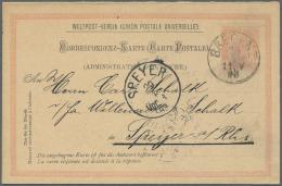 Österreich - Ganzsachen: 1870/1930 (ca.), Vorwiegend Kaiserreich, Bestand Von Ca. 150 Gebrauchten Und Ungebrauchten