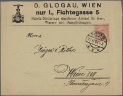 Österreich - Ganzsachen: 1870/1960 (ca.), Reichhaltiger Und Sehr Vielseitiger Bestand Von Einigen Hundert (gesch&au