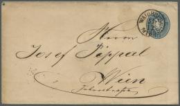Österreich - Ganzsachen: 1865/1933 (ca.), Interessanter Bestand Mit 36 Ganzsachen Dabei Postkarten, Briefumschl&aum