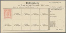 Österreich - Ganzsachen: 1861/1964 (ca.), Bestand Von Ca. 200 Ganzsachen Dabei Postkarten Und Briefumschläge E