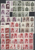 Polen: 1950/1951, Groszy Overprints, Collection/accumulation Of Apprx. 700 Stamps And More Than 180 Commercial Covers, S