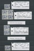 Polen: 1950, Groszy Overprints On 80zl. Roosevelt (Michel No. 617), U/m Assortment Of 88 Stamps Incl. Three Gutter Sheet