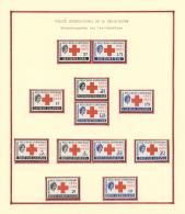 Thematik: Nobelpreis / Nobel Prize: 1907/1990 (ca.), NOBEL PRICE WINNERS, Extraordinary Exhibition Collection In 27 Bind