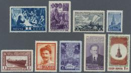 Sowjetunion: 1948/1961 (ca.), Sammlung Im Album In Den Hauptnummern Weitgehend Komplett (OHNE Blocks Und OHNE 1950 Moska