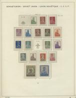 Sowjetunion: 1923/44 Gehaltvolle, In Den Hauptnummern Ab Ca. 1925 über Weite Strecken Fast Vollständige Sammlu
