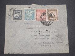 CHILI - Enveloppe De Santiago Pour La France En 1940 Par Avion , Affranchissement Plaisant - L 7889 - Chili