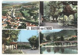 Cpsm La Bastide Sur L'Hers - Multivues - France
