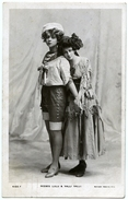 ACTRESSES : MISSES LULU & VALLI VALLI - Theatre