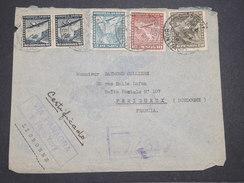 CHILI - Enveloppe De Santiago Pour La France En 1940 Par Avion , Affranchissement Plaisant - L 7890 - Chili