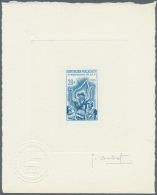 Madagaskar: 1963/1970 (approx). Collection Of 9 Different Epreuves D'artiste Signée Showing Various Topics. Forme