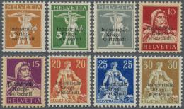 Schweiz - Dienstmarken Bund Und Ämter: 1918-1950: Sammlungspartie Ungebrauchter Und Gestempelter Dienstmarken, Dabe