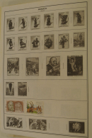Monaco: 1885/1983_ MNH, Mint Hinged And Used Collection Monaco 1885-1983 On Albumpages In Folder. Messy Collection But W