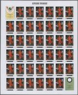 Thematik: Napoleon: 1969, Rwanda. Progressive Proofs Set Of Sheets For The Issue NAPOLEON - 200th BIRTHDAY ANNIVERSARY.