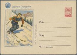 Thematik: Sport-Wintersport / Sport-winter Sports: 1913/1978, Deutschland/Europa, Sammlung Von 107 Nur Verschied. Belege