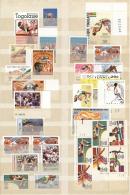 Thematik: Sport-Leichtathletik / Sports-athletics: 1940/2000 (ca.), HIGH JUMP, Mint Collection Of Apprx. 270 Stamps, Plu