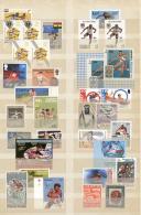 Thematik: Sport-Leichtathletik / Sports-athletics: 1920/2000 (ca.), HURDLE RACE, Mint Collection Of Apprx. 420 Stamps, U