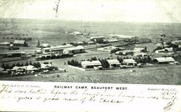 BEAUFORT WEST  RAILWAY CAMP  AFRIQUE DU SUD SUDAFRICA  South Africa  - - South Africa