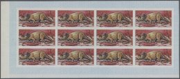 Thematik: Tiere-Dinosaurier / Animals-dinosaur: 1968, Fujeira. Progressive Proofs Set Of Sheets For The Postage Values O