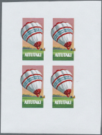 Thematik: Ballon-Luftfahrt / Balloon-aviation: 1970/1990 (ca.), Assortment Of 38 Positions Incl. Specialities On Present