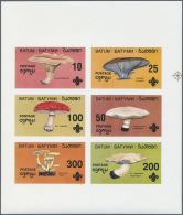 Thematik: Pilze / Mushrooms: 1960/2000 (approx), Various Countries. Accumulation Of 50 Items (also Multiple) Showing A G