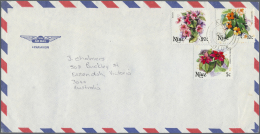 Ozeanien: 1982/1993, Assortment Of Apprx. 140 Covers, Comprising New Caledonia, Niue And Kiribati, Mainly Sent To Austra