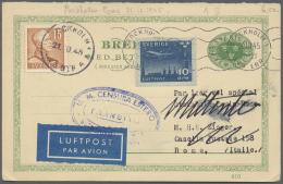 Schweden - Ganzsachen: 1887 - 1945,  Schöne Sammlung Von über 90 GSK, Kartenbriefen Und Einigen GS Umschl&auml