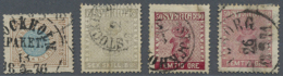 Schweden: 1855/1900, From Very Old Dealer´s Stock: Hundreds Of Stamps On Selection Pages And In Glasines. Some Fau