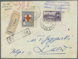Thematik: Rotes Kreuz / Red Cross: 1900/1980 (ca.), Umfangreicher Sammlungsbestand Mit Einigen Hundert Briefen, Karten U