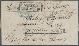 Thematik: Rotes Kreuz / Red Cross: 1795/1980 (ca.), Umfangreiche Sammlung Mit Einigen Hundert Briefen, Karten Und Ganzsa