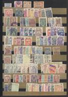 Argentinien - Besonderheiten: 1895/1920 (ca.), Klassische Sammlung Von Stempelmarken/Steuermarken, Dabei Seltene Ausgabe