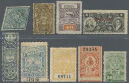 Argentinien - Besonderheiten: 1890/1970 Ca., REVENUES, Interesting Accumulation With Many Hundred Revenue Stamps, Compri