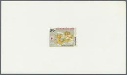 Vietnam-Süd (1951-1975): 1975, Electricity, Development Etc. Unissued Sets (4): Epreuves De Luxe (8).